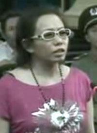 Bà Tạ Phong Tần tại phiên phúc thẩm hôm 24/9/2012. RFA file