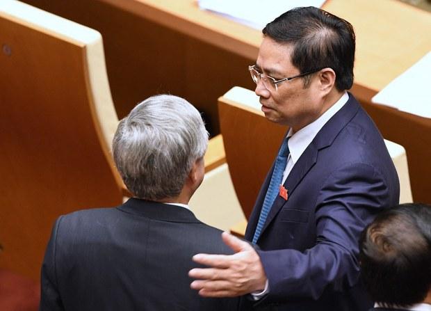 Một số nhân sự chủ chốt của Chính phủ Hà Nội mới