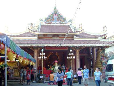 Chùa Khánh Vân – Wat Upairadbamrung (thuộc tông Annam tại Thái Lan)