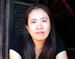 Blogger Mẹ Nấm, một trong những blogger bị chính quyền VN sách nhiễu. Photo courtesy of MeNam's Facebook.
