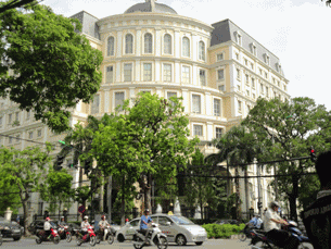Trụ sở bộ Tài chánh Việt Nam