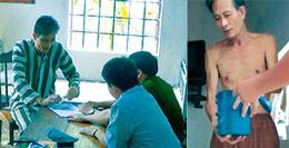 Nguyễn Văn Hải trong buổi khám sức khỏe định kỳ (ngày 26/7)? (nguồn báo Công an Nhan dân)