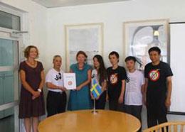 Cũng hôm 7 tháng 8, 2013 tại Hà Nội đại diện Mạng lưới bloggers Việt Nam trao Tuyên bố 258 cho bà Elenore Kanter, phó Đại sứ Thụy Điển.