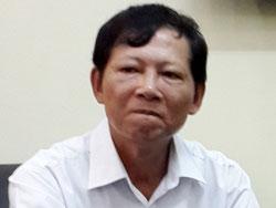 Ông Nguyễn Đức Sơn, Chủ tịch HĐQT kiêm TGĐ Công ty TNHH Một thành viên Quản lý và phát triển nhà Hà Nội, ảnh chụp hôm 15/9. Courtesy VTC.