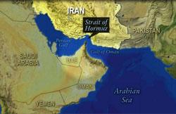 Vị trí trọng yếu của eo biển Hormuz- Source: PBS News