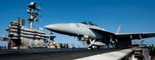 Trên sân bay hàng không mẫu hạm John Stennis- Source: USNavyMil