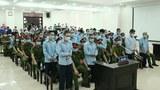 Ảnh minh hoạ. Phiên toà xử 29 người dân Đồng Tâm ở Toà án Nhân dân TP. Hà Nội hôm 14/9/2020.