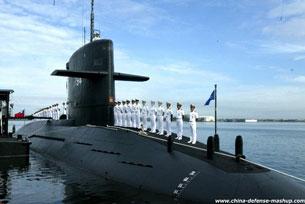 Tàu ngầm hiện đại của Đài Loan mang tên Hải Long. Source china-defense