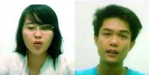 Hai sinh viên yêu nước Nguyễn Phương Uyên và Đinh Nguyên Kha