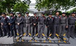 Cảnh sát Thái Lan. AFP photo
