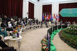 Đại diện các nước tại Diễn đàn khu vực ASEAN lần thứ 19 ở Phnom Penh ngày 12/07/2012. RFA PHOTO/ Quốc Việt.