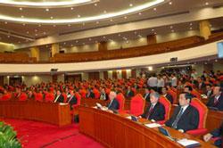 Hội nghị lần thứ 6 của Ban Chấp hành Trung ương Đảng CSVN khóa 11, hôm 02/10/2012. Photo courtesy of vinhphuc.gov