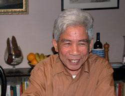 Nhà văn Bùi Ngọc Tấn. Photo courtesy of vnweblogs
