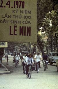 Hà Nội kỷ niệm ngày sinh Lê Nin năm 1970. AFP photo