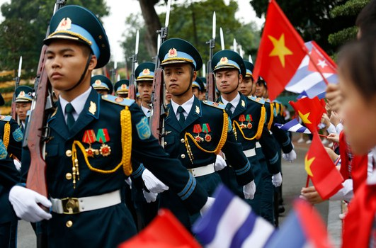 Ảnh minh họa chụp ngày 9 tháng 11 năm 2018 tại Hà Nội.