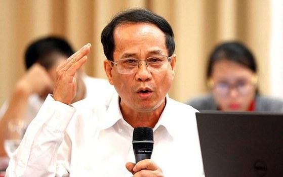 Phó Giáo Sư, Tiến Sĩ Ngô Trí Long, nguyên viện trưởng Viện Nghiên cứu thị trường giá cả Bộ Tài Chính.
