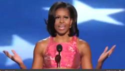 Đệ nhất phu nhân Michelle Obama- Screen capture