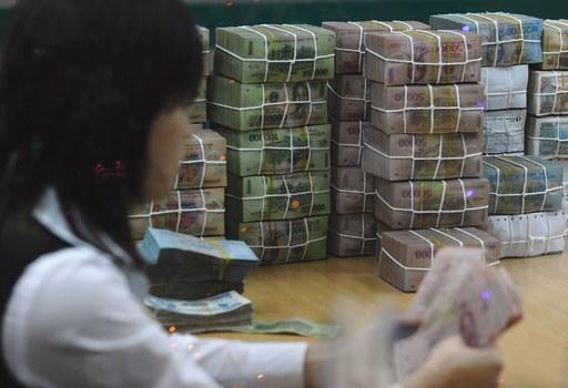 Một hoạt động trong ngân hàng tại Việt Nam. (Ảnh minh họa)