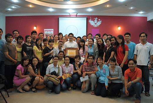 Hình minh hoạ. Một workshop năm 2011 ở Việt Nam