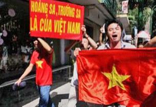 Biểu tình chống Trung Quốc ở Hà Nội hôm 05/6/2011