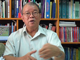 GSTS Võ Tòng Xuân, Hiệu trưởng Trường Đại học Tân Tạo Long An. Source Vietnamnet