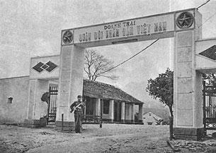 Doanh trại CSVN bị lính Trung Cộng chiếm năm 1979. Nguồn báo chí TQ