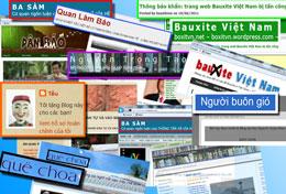 Một số các trang mạng, các Blog được gọi là báo chí  lề trái