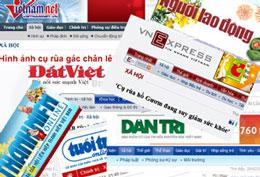 Theo thống kê của Hội nhà báoViệt Nam  cả nước hiện có trên 700 tờ báo. RFA file
