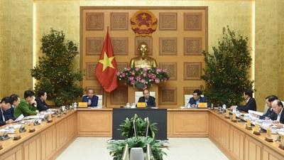 Cuộc họp Thường trực Chính phủ về các dự án chậm tiến độ, kém hiệu quả của ngành công thương hôm 03/03/2021.