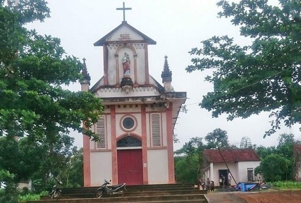 Nhà thờ giáo họ Yên Lạc