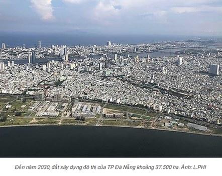 Mô hình thành phố Đà Nẵng quy hoạch năm 2030.