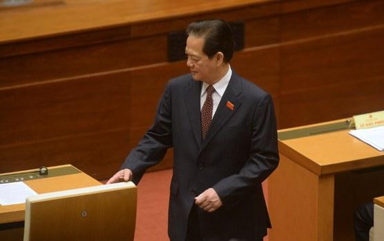 Nguyên Thủ tướng Nguyễn Tấn Dũng, được xem là đối thủ chính trị của ông Nguyễn Phú Trọng, và là người đỡ đầu của ông Trần Bắc Hà.