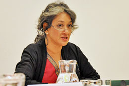 Bà Farida Shaheed, Báo Cáo Viên Đặc Biệt của LHQ trong lĩnh vực văn hoá. UN.org