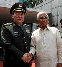Bộ trưởng QP TQ và Philippines