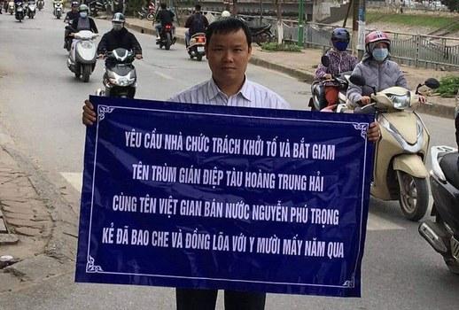 Nhà hoạt động Lê Anh Hùng.
