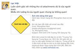 Một cảnh báo virus trên facebook