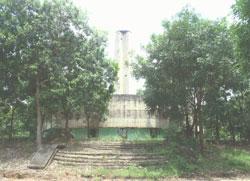 Nghĩa trang quân đội Biên Hòa trước khi được trùng tu. VAF PHOTO.
