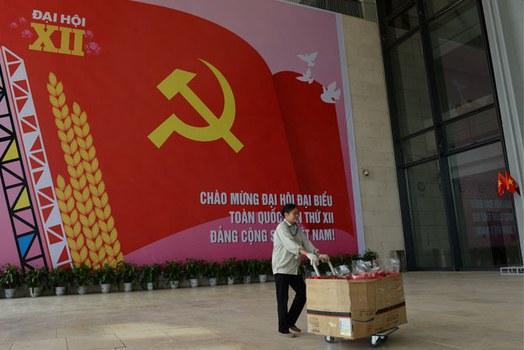 Trung tâm Hội nghị Quốc gia Việt Nam hôm 20/01/2016.