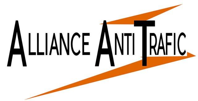 Logo của tổ chức Alliance Anti Trafic (AAT) - Liên Minh Phòng Chống Buôn Người