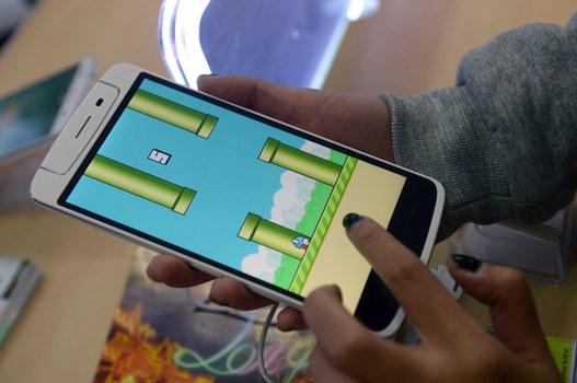 Minh họa: game ứng dụng được download trên iPad.