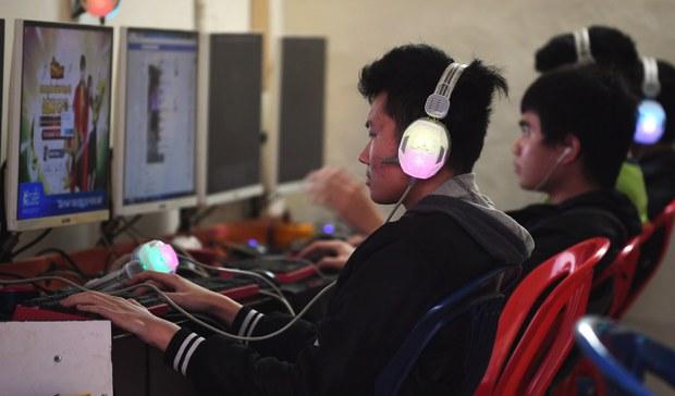 Minh họa: một địa điểm kinh doanh chơi game tại Hà Nội.
