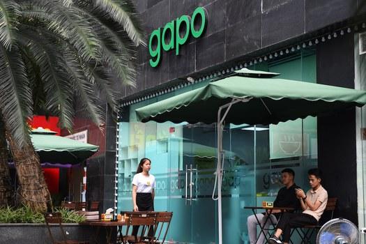 Hình minh hoạ. Văn phòng công ty phát triển mạng xã hội Gapo của Việt Nam ở Hà Nội. Hình AFP