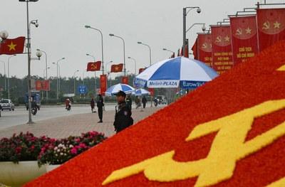 Ảnh minh họa chụp bên ngoài Trung tâm Hội nghị Quốc gia Mỹ Đình ở Hà Nội trước đây.