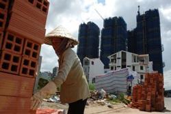 Công nhân xây dựng của Việt Nam- globalpost.com photo