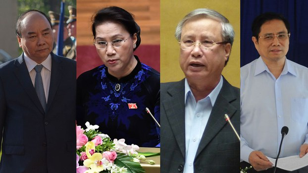 Bốn ứng cử viên có thể được chọn thay thế đảm nhiệm chức vụ của ông Nguyễn Phú Trọng.