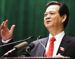 Thủ tướng Nguyễn Tấn Dũng trả lời chất vấn tại quốc hội- tinmoi.vn photo
