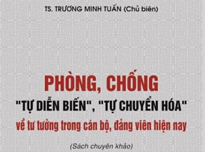 Quyển sách do cựu Bộ trưởng Trương Minh Tuấn chủ biên.