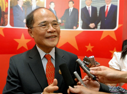 Ông Nguyễn Sinh Hùng. AFP photo