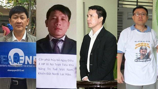 Bốn thành viên Hội Anh Em Dân Chủ sẽ ra tòa sơ thẩm trong ngày 05/04/18.