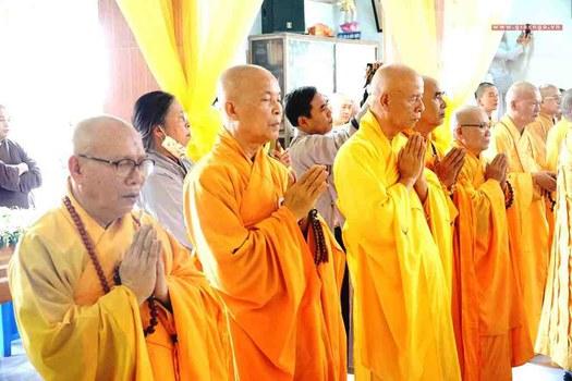 Lễ tang Hòa thượng Thích Quảng Độ ở chùa Từ Hiếu, TP Hồ Chí Minh hôm 25/2/2020